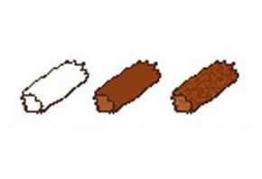 Pixel Art. Мини руководство: Бревна